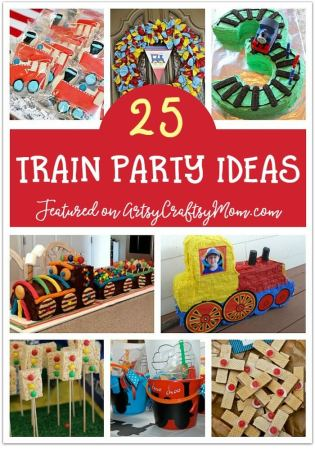 Check out our 25 awesome train birthday party ideas for decor, food, cakes and more! Kids love trains, which makes it a perfect theme for birthday parties!