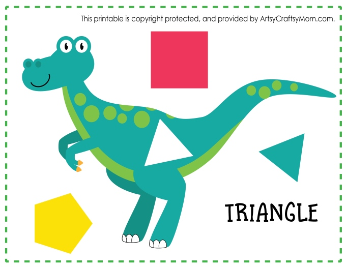 picture about Dinosaur Matching Game Printable identified as Printable Dinosaur Form Game Recreation