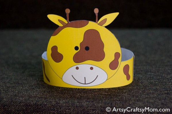 This summer, engage the kids in some fun pretend play with these adorable printable animal crowns - just print, cut, stick and you're all set to play!