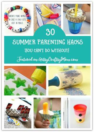 30 Summer Parenting Hacks You Can't do Without