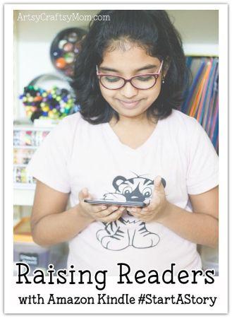 Raising Readers with Kindle #StartAStory