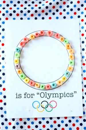 The 11+ Best Olympic Crafts Ideas for kids - Activities & Ideas for Winter Olympics - Olympic Ring Printing, Flags, medals, Olympic Rings, Olive Leaf Crown.
