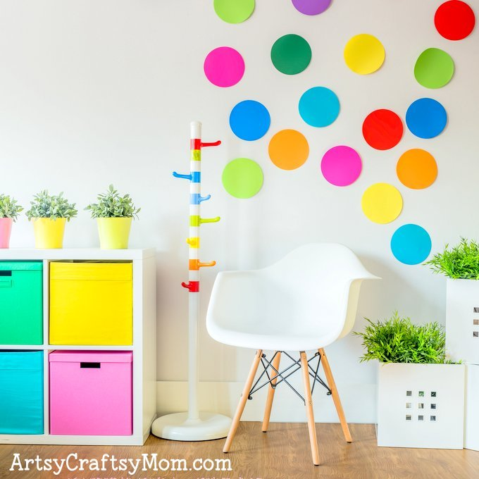 The 5 Essentials to Designing a Creative Kids Playroom should help you set up a creative space that your child will love! A simple guide to help you. #GoHaus