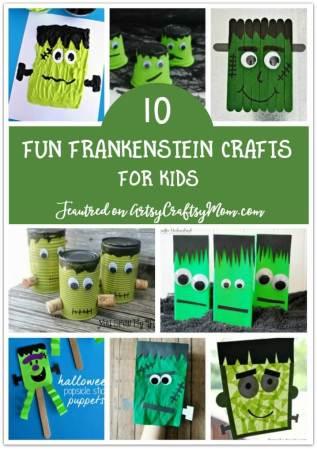 10 Fun Frankenstein Crafts for Kids