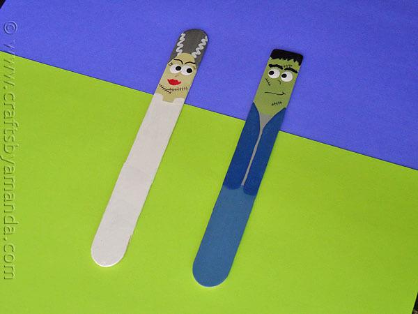 10 fun frankenstein crafts for kids for Make it take it crafts
