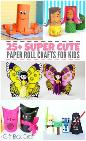 25+ Super Cute Paper Roll Crafts for Kids