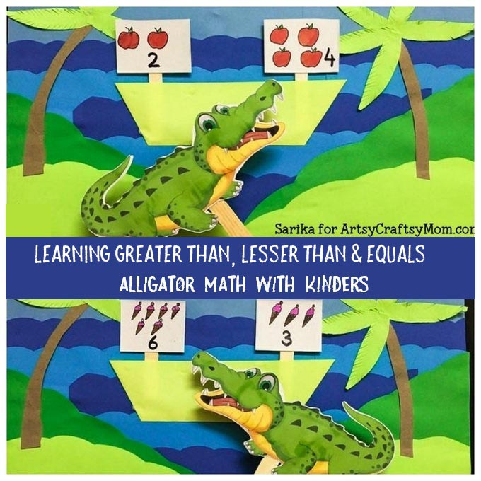 picture about Greater Than Less Than Alligator Printable known as Discovering Larger sized Than, Fewer Than, and Equals with Alligator Math