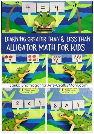 Learning Greater Than, Less Than, and Equal to with Alligator Math