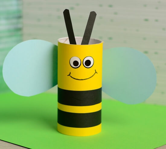 25 Super Cute Paper Roll Crafts For Kids