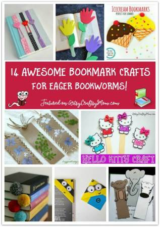14 Bookmark Crafts for Eager Bookworms