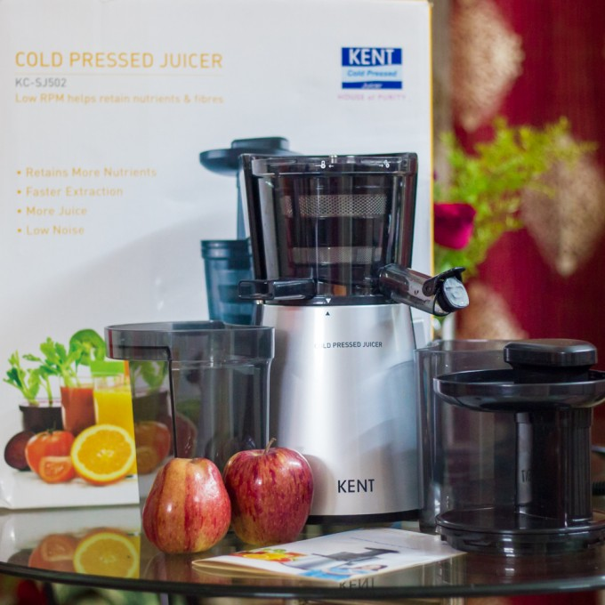 Kent Cold Pressed Juicer KC-SJ502 Review & recipe
