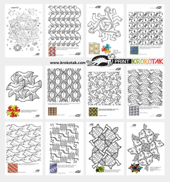 photograph regarding Tessellation Worksheets Printable named 10 Enjoyment Tessellation Initiatives for Children towards Engage in and Master