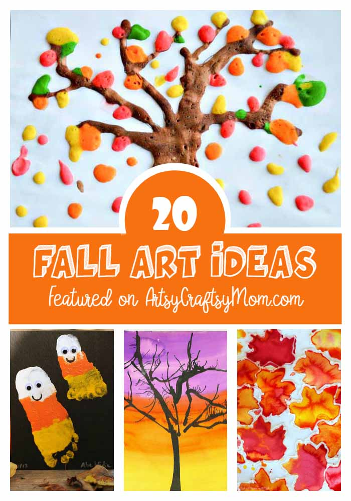 30 last minute thanksgiving week ideas jump into autumn with these 20 fall art ideas for kids read on for plenty