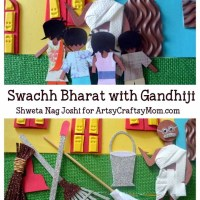 Gandhi Jayanti Crafts, Video & Activities for kids