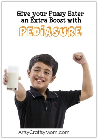 Ensure kids get the right nutrients during their growing stage even when they are fussy eaters - An extra boost with Pediasure