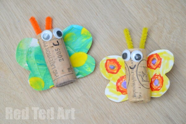 15 Super Cute Butterfly Crafts For Kids