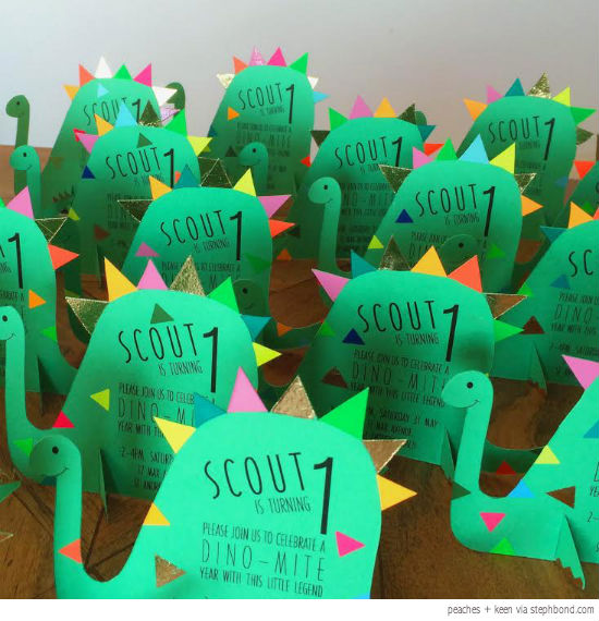 20 Ideas For An Amazing Dinosaur Themed Party for kids