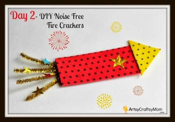 Have fun with our sparkling Fireworks craft ideas for kids - perfectly safe substitutes for real fireworks, whether it's New Year, Diwali or the Fourth of July!