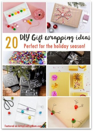 20 Gorgeous DIY Gift wrapping ideas for the holiday season!