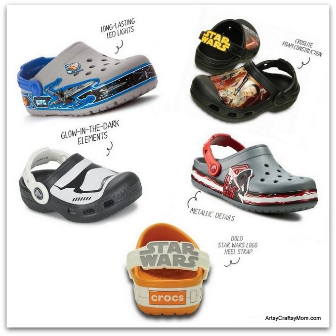 When two classics come together, it's time for rebellion!  #Crocs Disney Star Wars Collection #CrocsIndia #FindYourFun #starwars #RogueOne #astarwarsstory