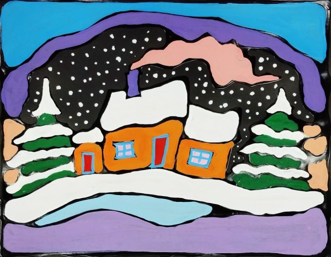 Ted Harrison thought it was a compliment that children could understand his art. That's why they'll also love these Ted Harrison Art Projects for Kids!