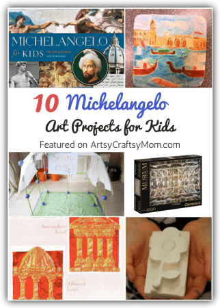 10 Magnificent Michelangelo Art Projects for Kids
