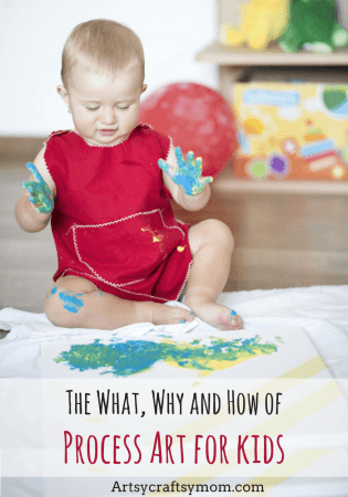 The What, Why and How of Process Art for Kids