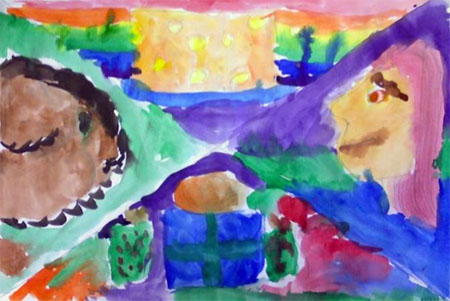 Marc Chagall believed in painting from the heart and that's what he did! Learn more about this amazing artist with 10 Marc Chagall Art Projects for Kids.