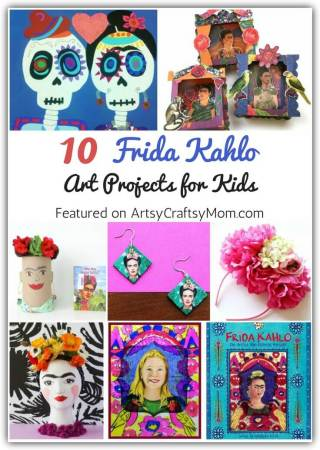 10 Fantastic Frida Kahlo Art Projects for Kids