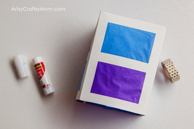 Brighten up your Diwali with a stunning DIY Paper Lantern that brings not just light but lots of color into your life as well, this festive season!