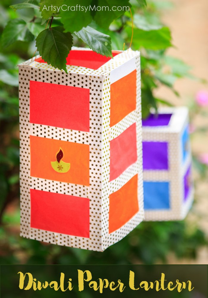 brighten up your diwali with a stunning diy paper lantern that brings not just light but