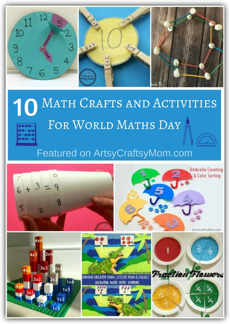 10 Enjoyable Math Crafts and Activities for World Maths Day