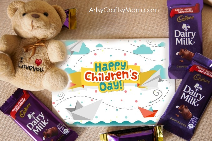 Throw a Children's Day Party for your child this year! Baccho ke saath bacche ban jaayein. Kuch meetha ho jaaye with Cadbury Dairy Milk