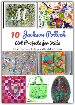10 Jackson Pollock Art Projects for Kids