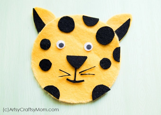 Make an adorable C for Cheetah Craft with our Printable Template that's suitable for forest animals, mammals, letter C theme and more.