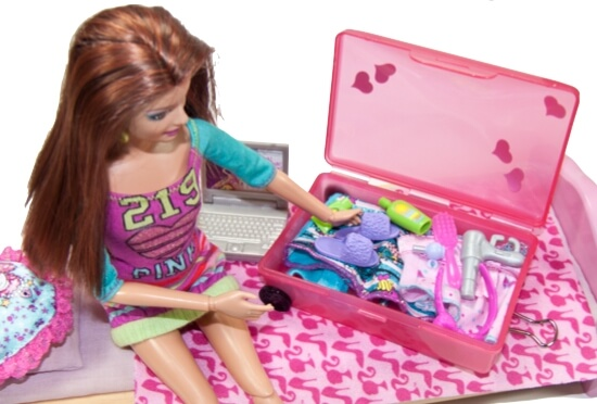 20 Amazingly Adorable Barbie Crafts you'll Love to Make!