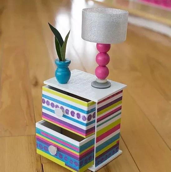 Barbie Furniture Diy Intended Diy Barbie Dresser 20 Amazingly Adorable Crafts Youu0027ll Love To Make