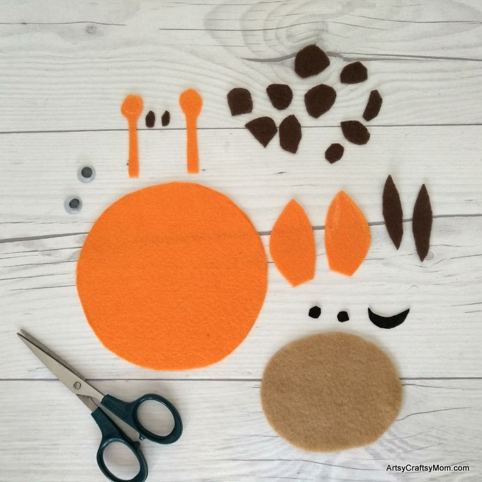 g for giraffe craft with printable template artsy craftsy mom