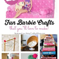 20 Amazingly Adorable Barbie Crafts that you'll Love to Make!