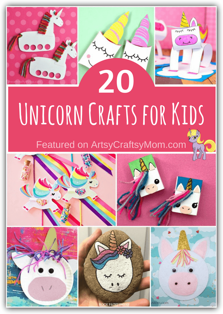 20 Unique Unicorn Crafts for Kids to Make