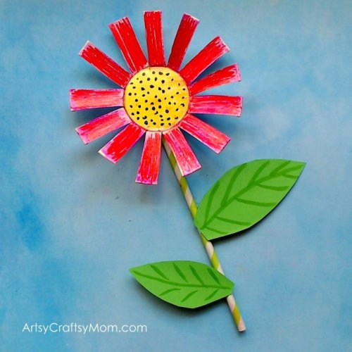 25 Gorgeous Paper Flower Crafts For Kids That Are Perfect For Summer