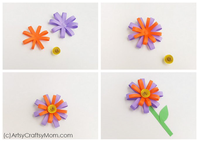 Paper flower craft for summer brighten up your summer days with a paper flower craft thats super easy to make mightylinksfo
