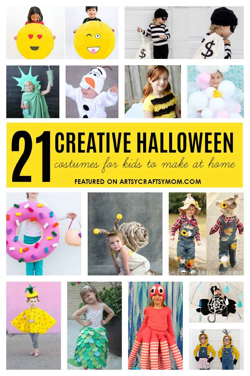 16 Creative And Easy Last Minute Halloween Costumes for kids