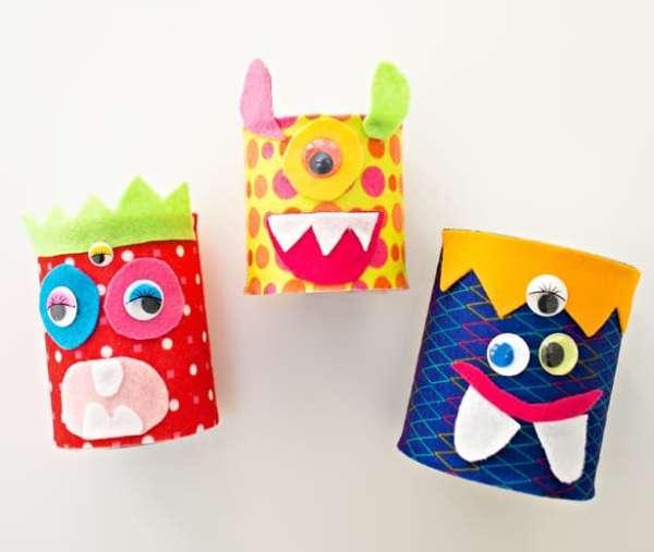 10 Fun Monster Crafts For Kids Artsy Craftsy Mom