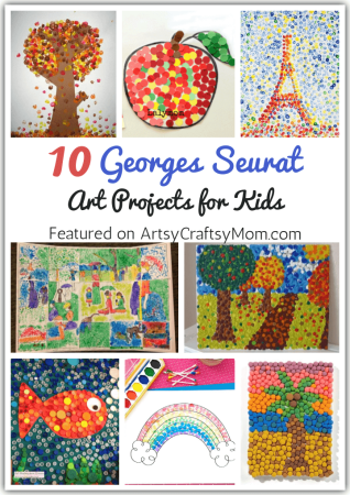 10 Georges Seurat Art Projects for Kids