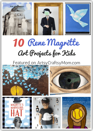 10 Rene Magritte Art Projects for Kids