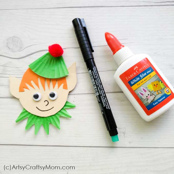 This Popsicle Stick Elf is just what you need to add a mischeivous touch to your Christmas tree! Perfect as a bookmark to keep track of holiday reading!