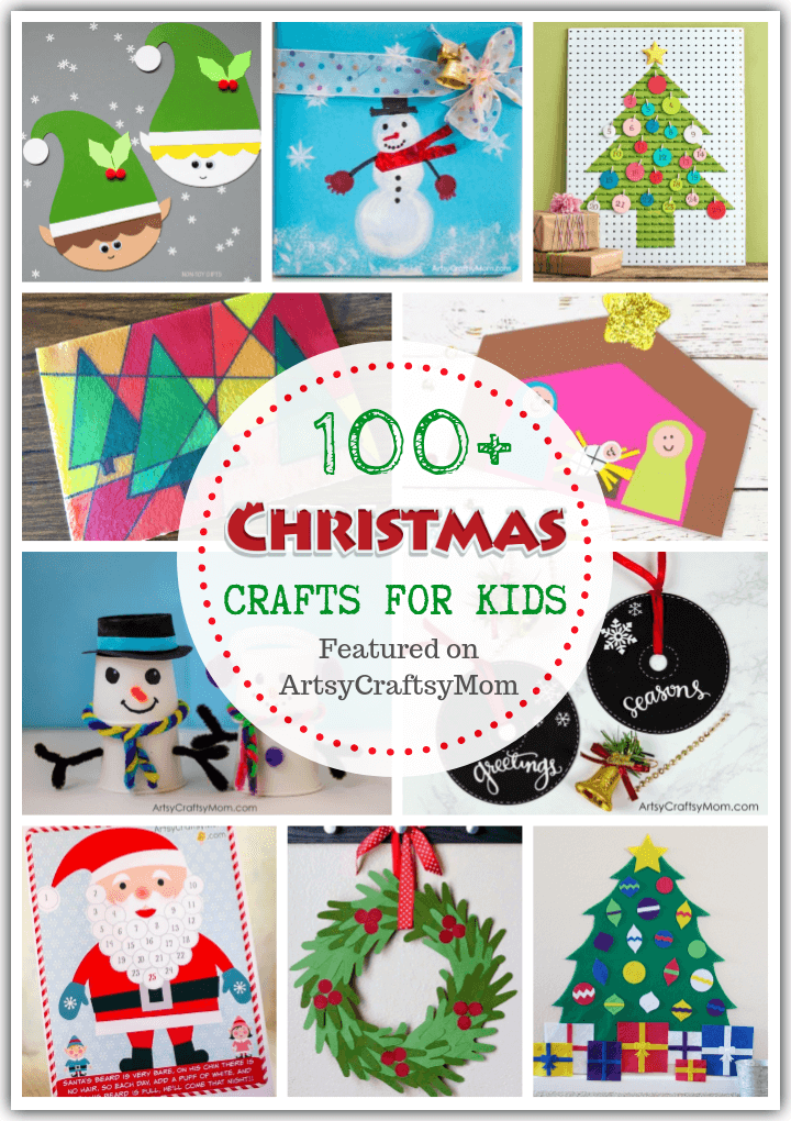With our Ultimate List of 100+ Christmas Crafts for Kids, you'll never run out of ideas! Includes ornaments, calendars, printables & more!