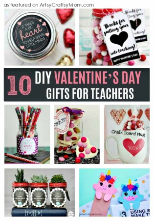 These DIY Valentine's Day Gifts for Teachers are perfect for kids to make to show their love and appreciation for their teacher. After all, they deserve it!
