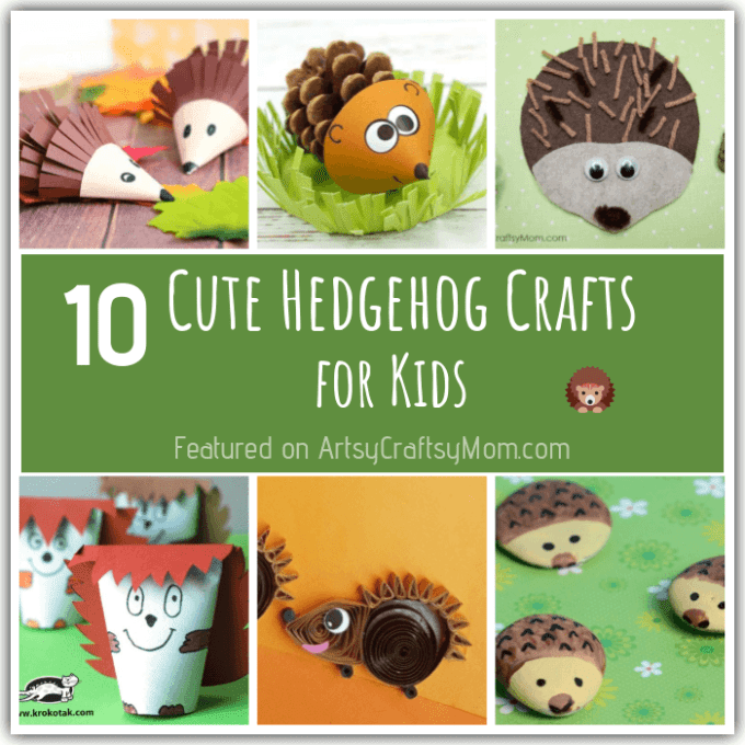 Hedgehogs aren't exactly huggable, but these hedgehog crafts for kids are too cute for words! Learn about this amazing animal through some simple projects!
